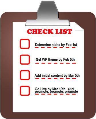 smart New Year's Resolution checklist